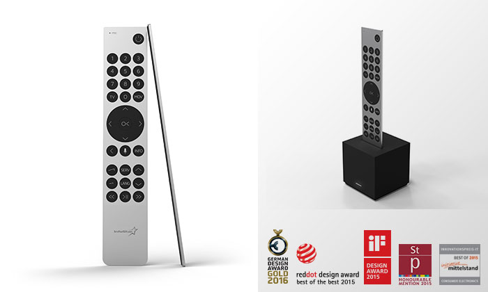 Exclusive luxury remote - Best of the best award