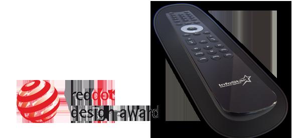 InfoStar Universal Remote - reddot award